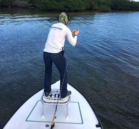 miami fly fishing carl ball poling bonefish