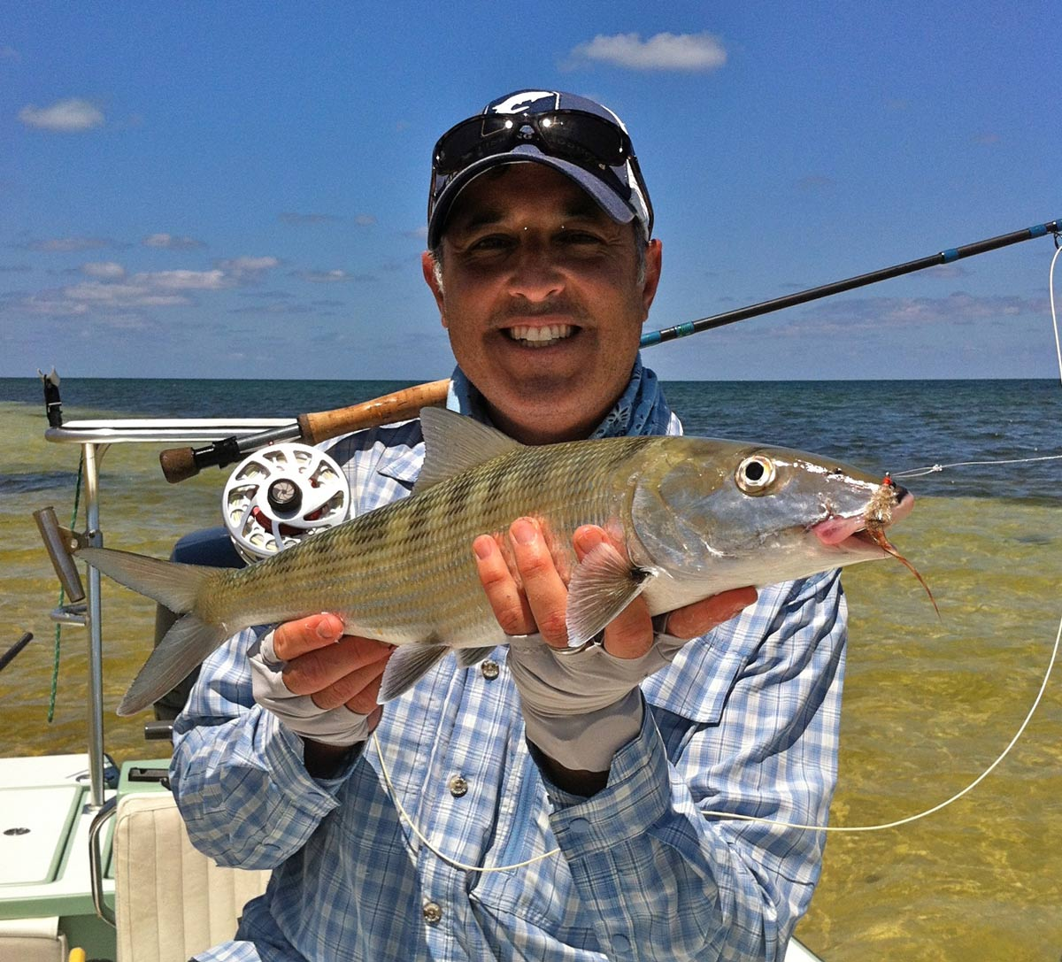About the captain awol fishing guide for Fly fishing miami